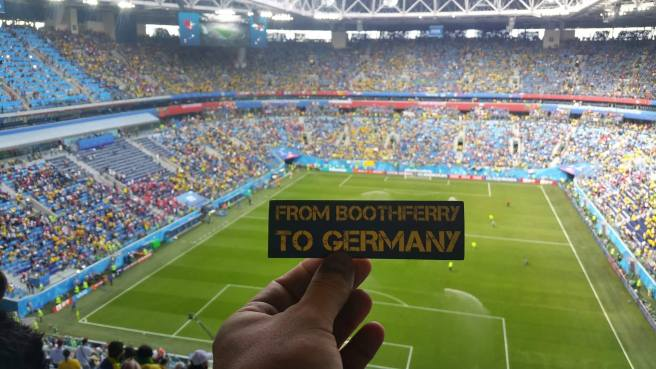 From Boothferry To Germany world cup