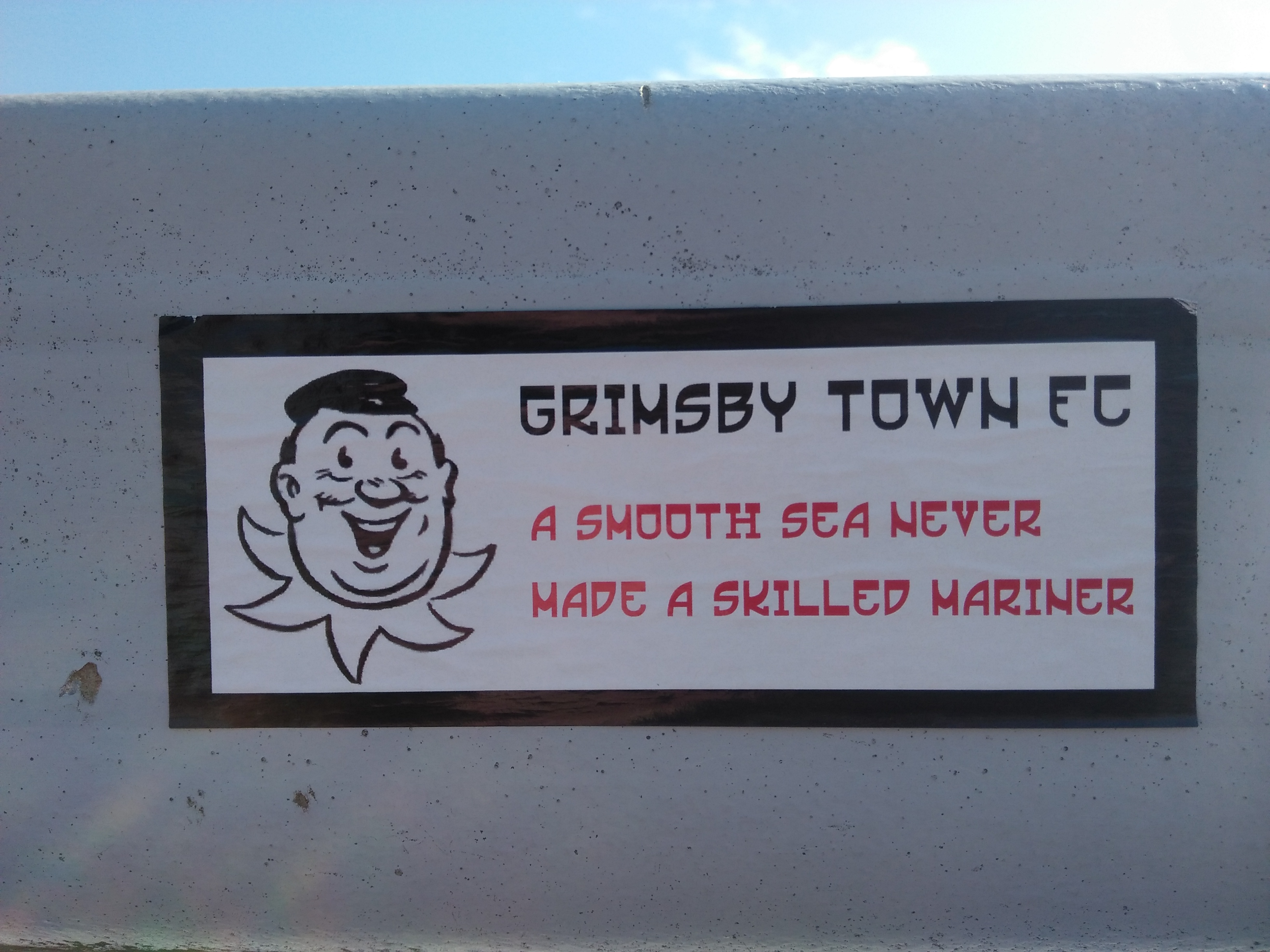 Grimsby Town sticker