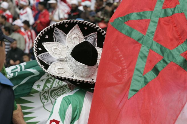 Morocco Football fans world cup