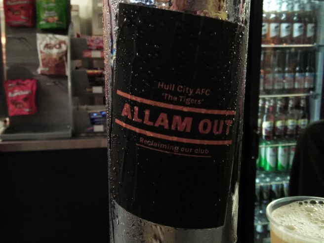 Hull City Allam Out sticker
