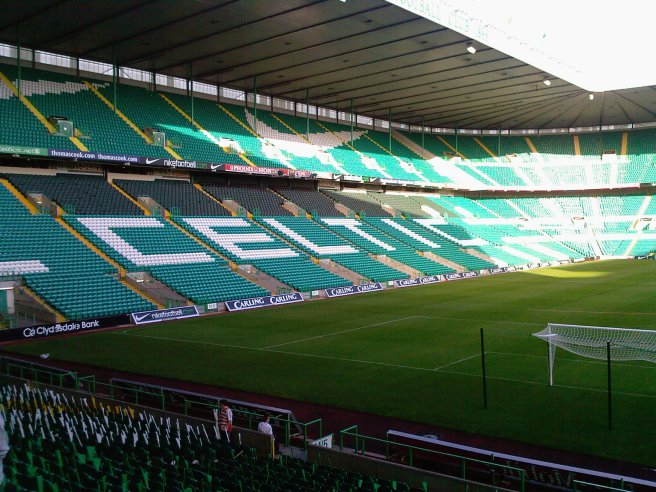 Inside Celtic Park