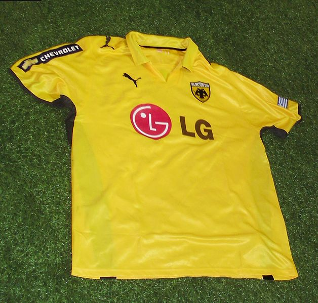 AEK Athens Football shirt