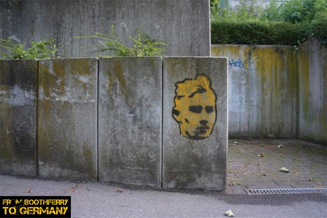 Borussia Dortmund Unity graffiti