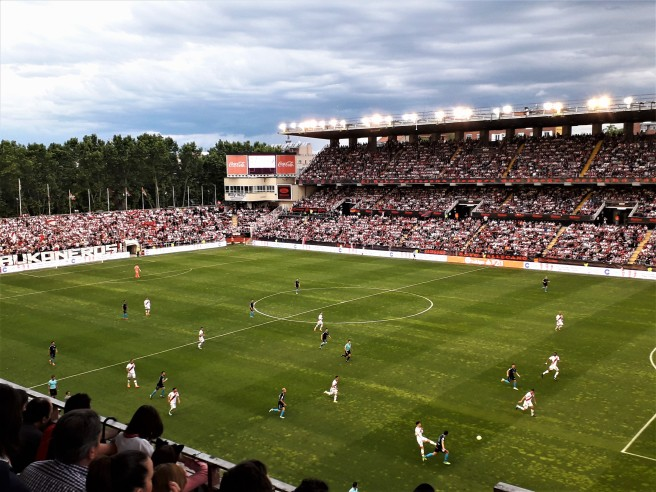 Rayo Vallecano home fans