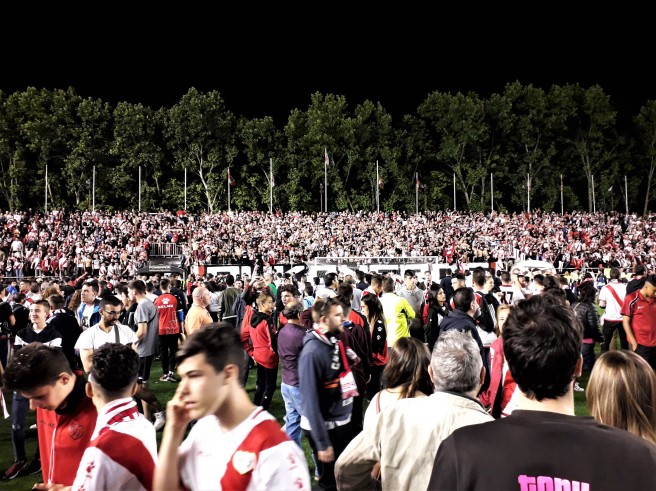 Rayo Vallecano Madrid fans
