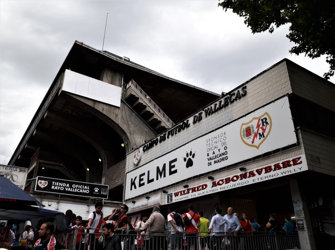 Rayo Vallecano Madrid stadium