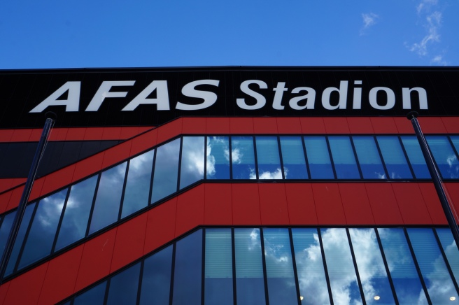 AFAS stadion sign