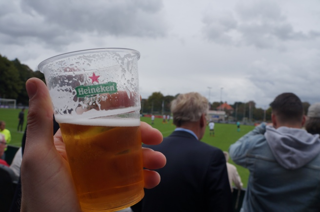 Beer at Football Netherlands