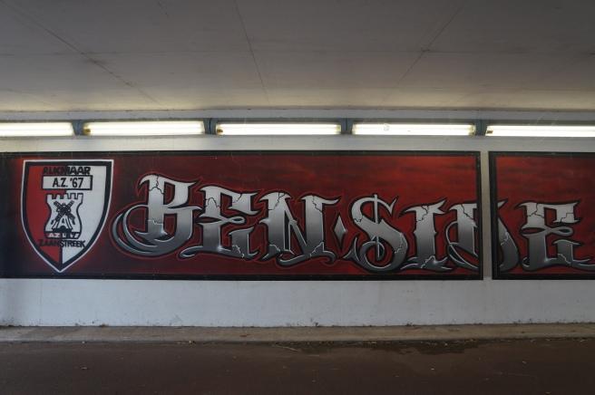Benside graffiti