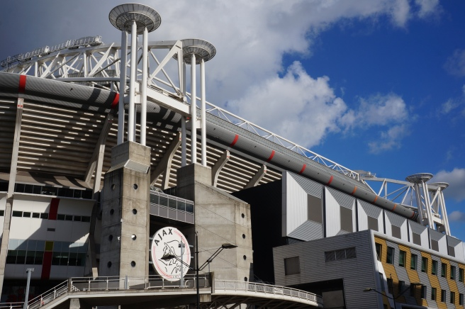 Johan Cruyff Arena outside