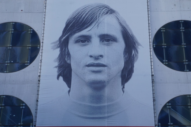 Johan Cruyff black and white