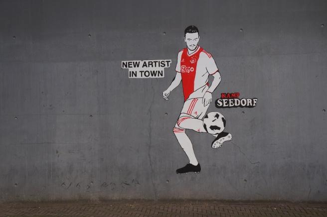 Kamp Seedorf graffiti