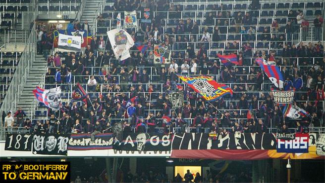 FC Basel away fans