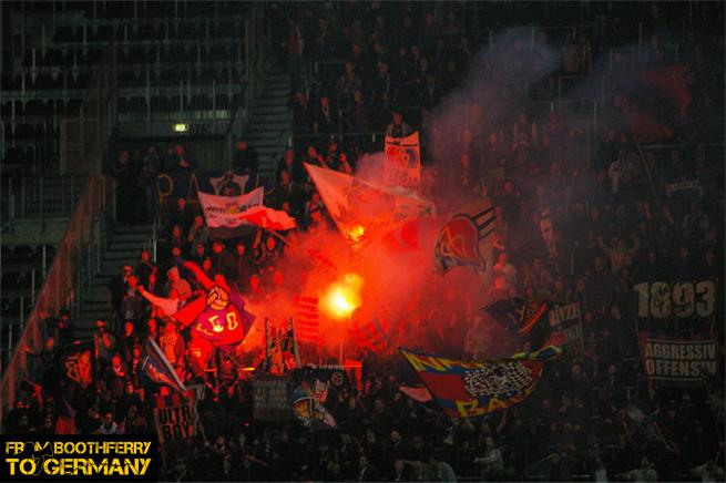 FC Basel flares