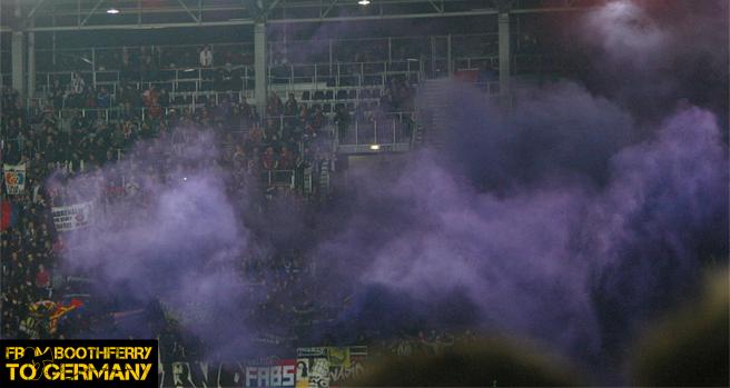 FC Basel pyro