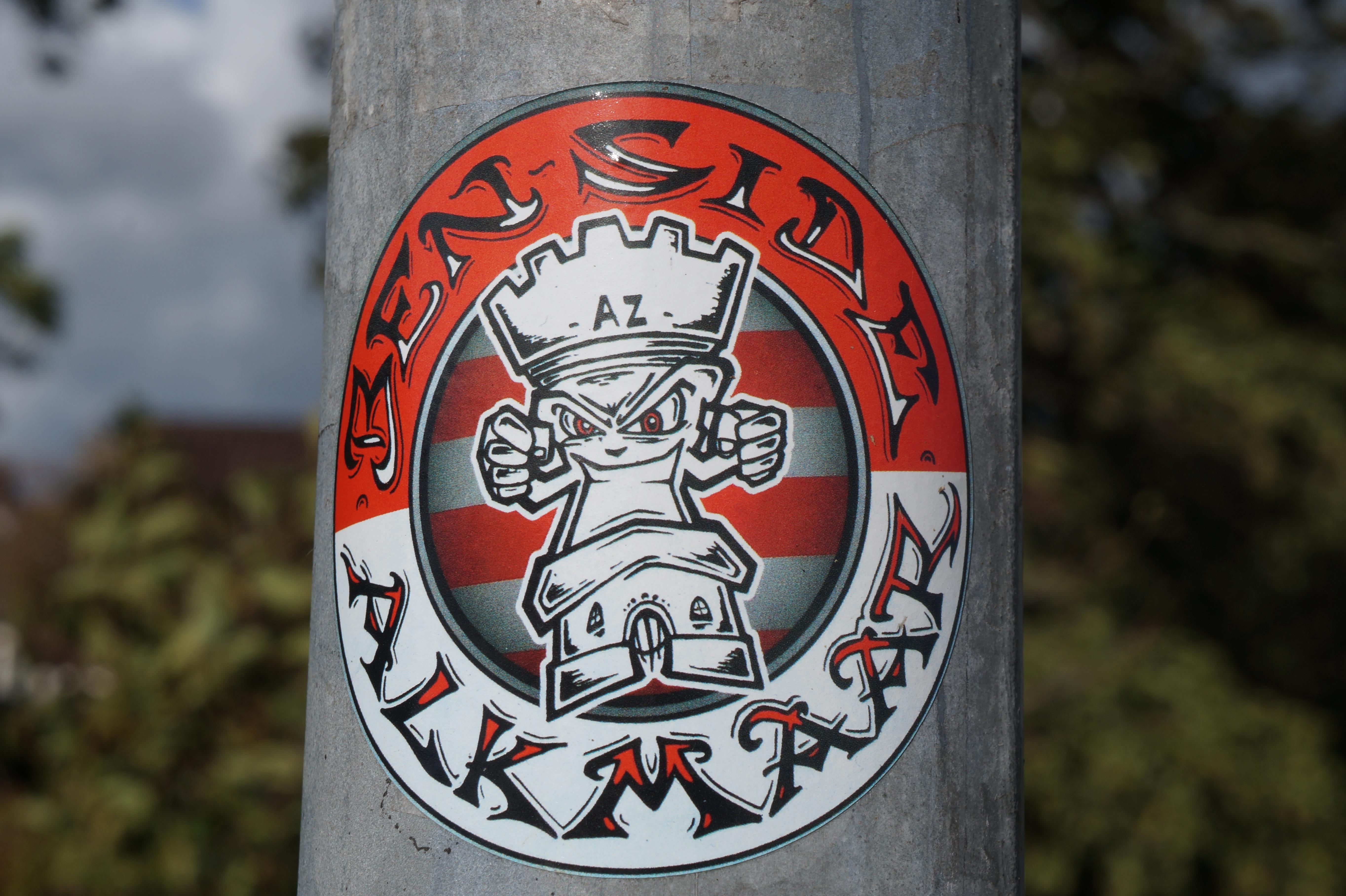 Ben Side Alkmaar Ultras sticker