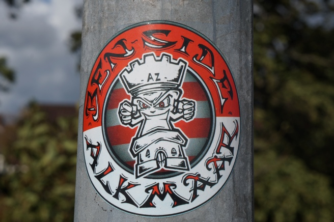 Ben Side Alkmaar Ultras sticker