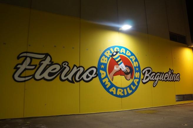 Brigadas Amarillas graffiti