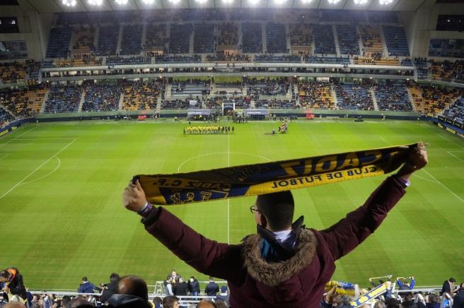 Cadiz CF fans