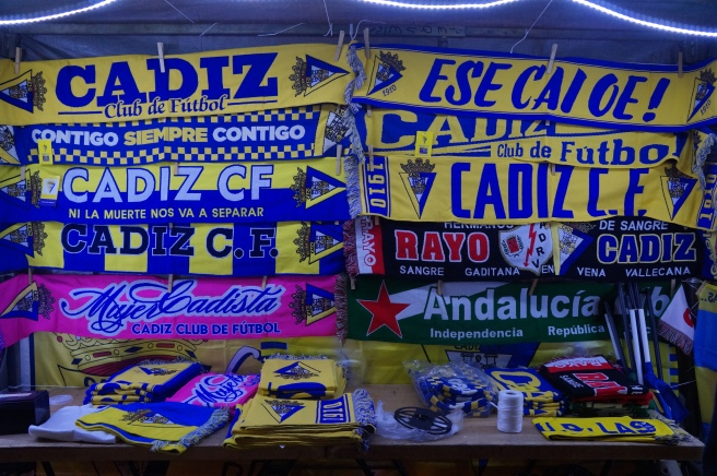 Cadiz CF merchandise