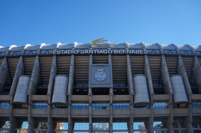 Bernabeu main entrance