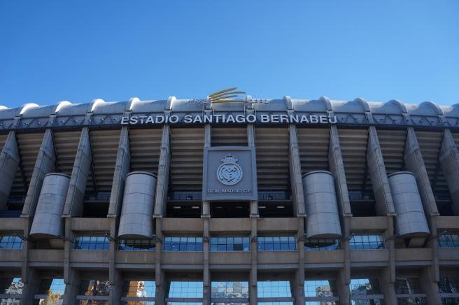 Bernabeu main entrance