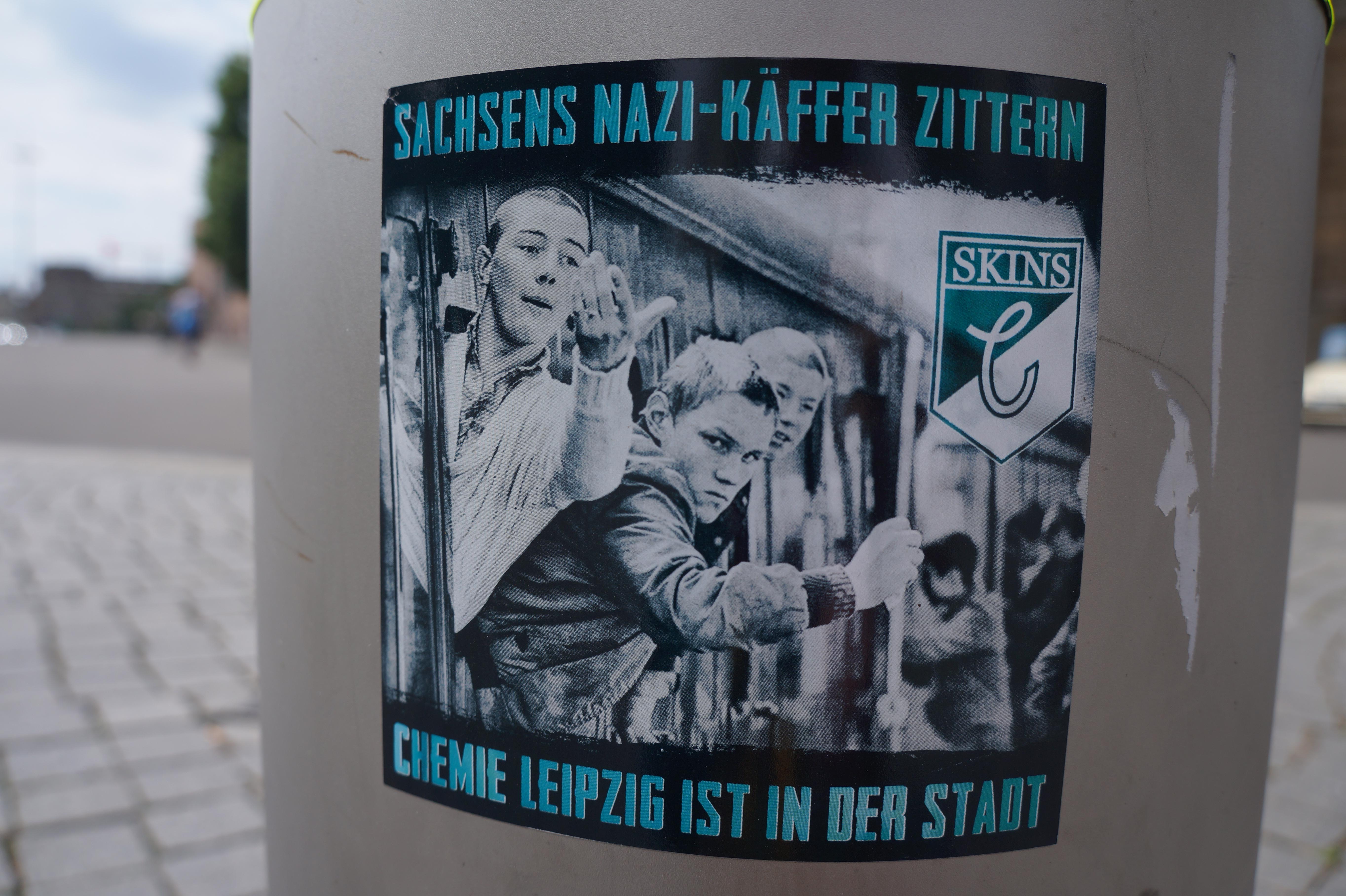 Chemie Leipzig ist in der Stadt