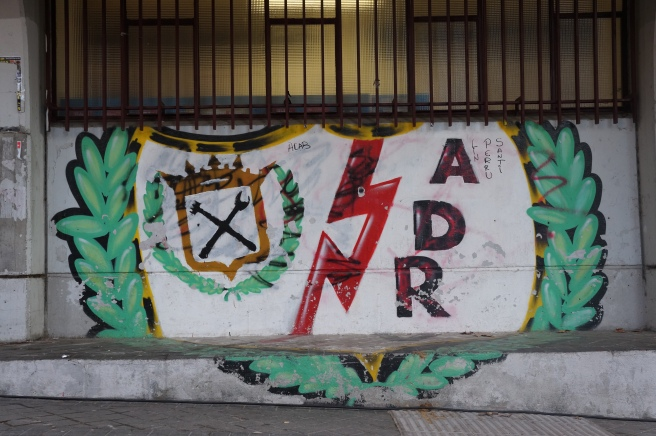 Rayo Vallecano graffiti