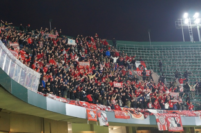 Olympiacos fans Betis