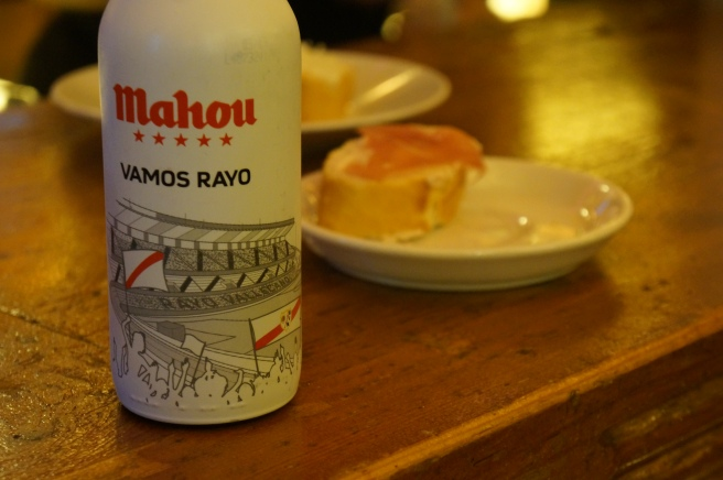 Rayo Vallecano beer