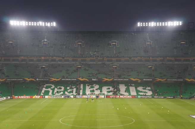 Real Betis stadium inside