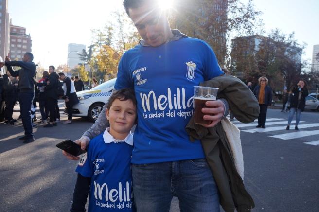 UD Melilla fans