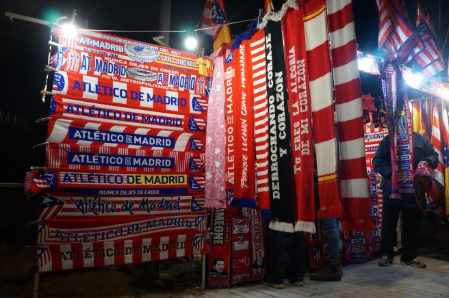 Atlético Madrid scarves