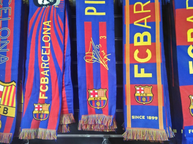 Buy Barcelona scarves