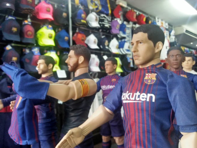 Football merchandise Barcelona