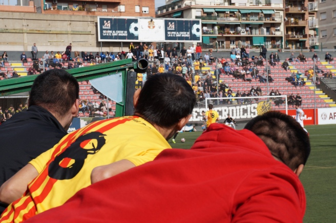 Sant Andreu Football fans