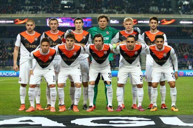 Shakhtar Donetsk white shirt