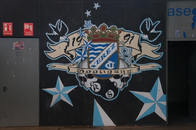 Xerez Deportivo graffiti