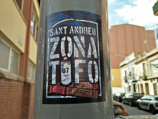 Sant Andreu pegatina