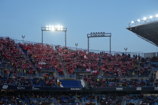 Granada away fans