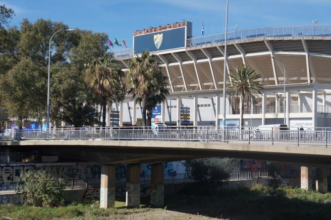 La Rosaleda stadium Malaga