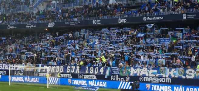 Malaga home fans