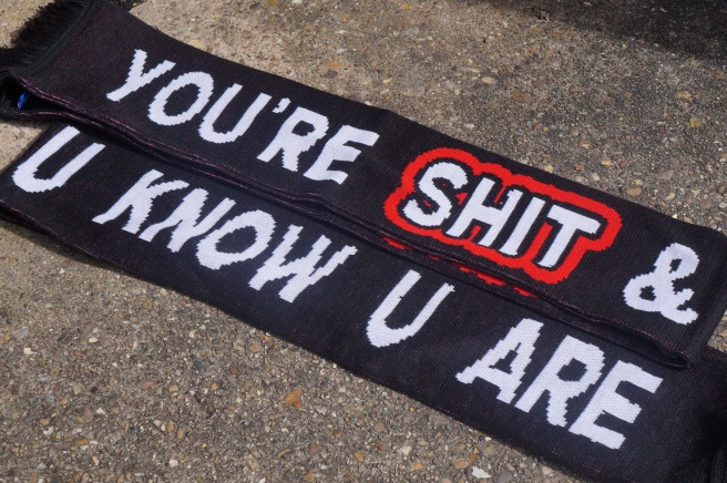 You're Shit And You Know You Are Scarf