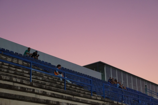 Sunset football stadium