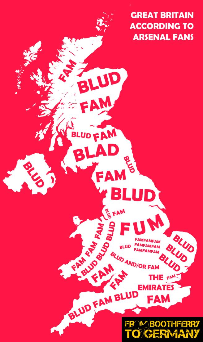 Britain according to Arsenal