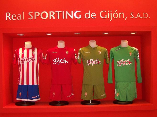 Sporting gijon shirts