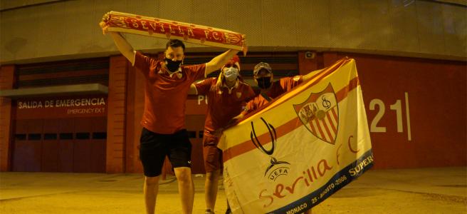 Sevilla fans europa