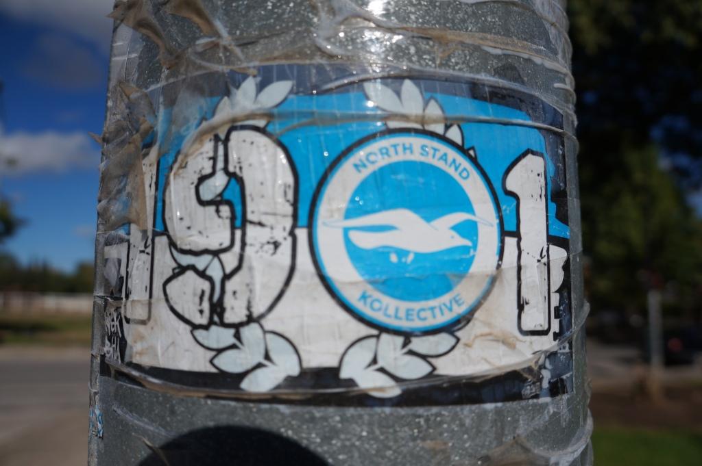 North stand kollective sticker