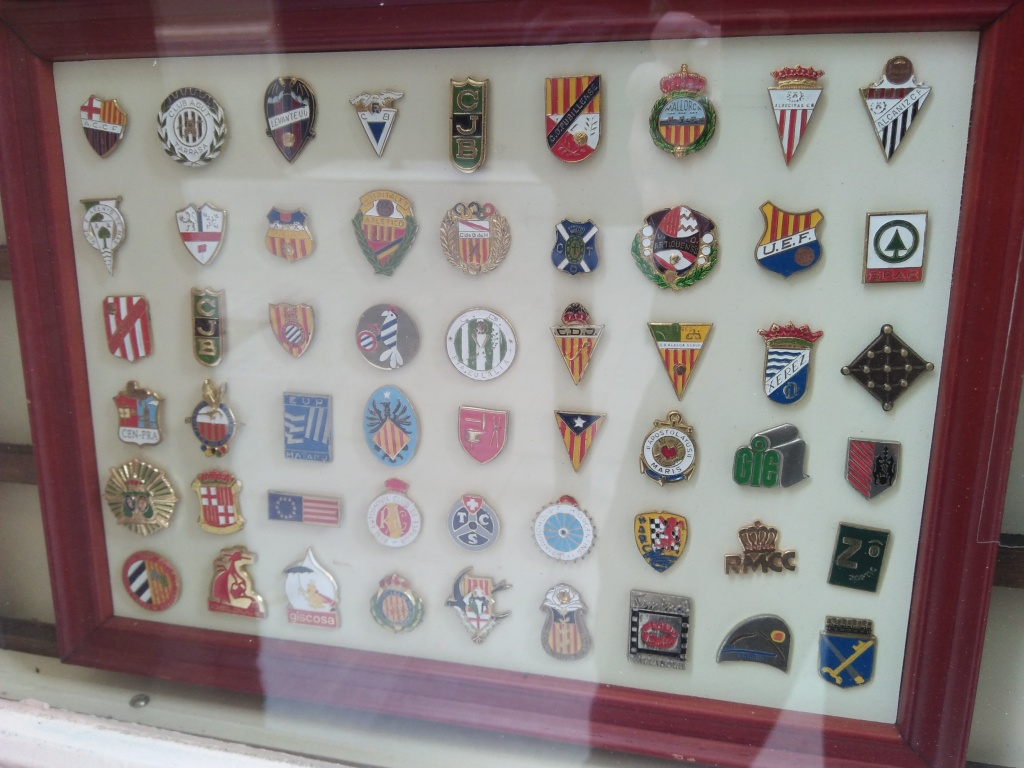Spanish football badges
