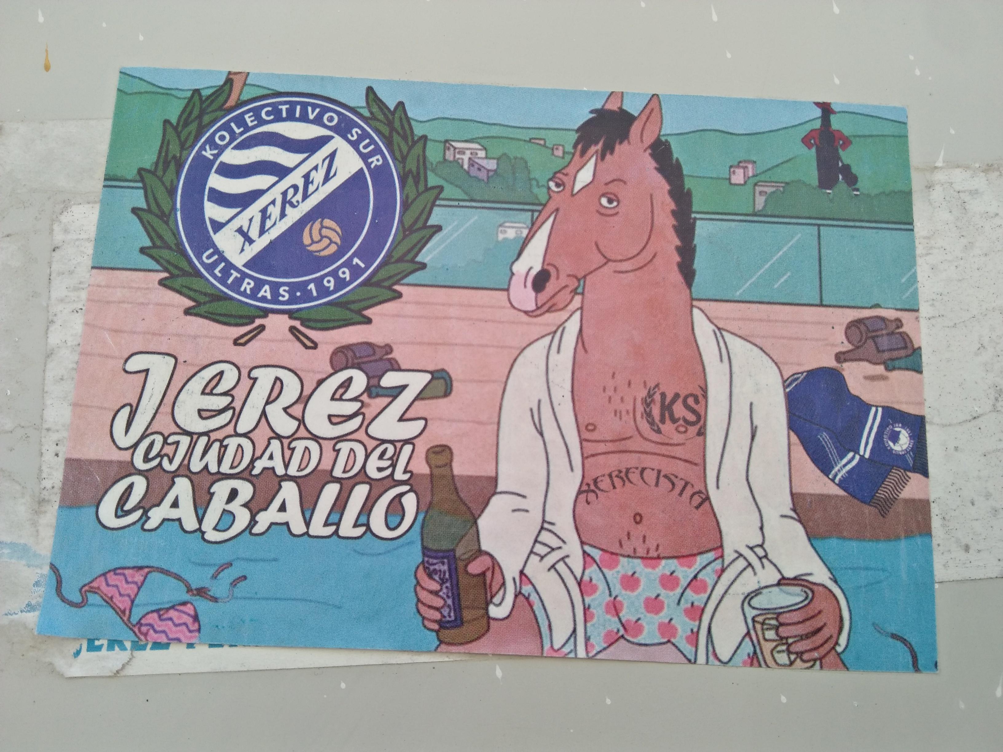 Xerez Deportivo caballo